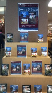 University of New Mexico Bookstore Book signings for Walking Fish: a Novel and Piggybacked: Poetry