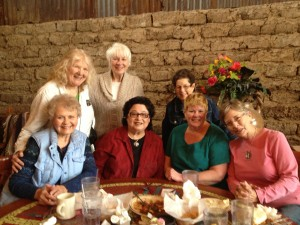 DIVA writing group at yearly reunion