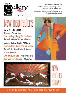 Poetry reading at The Gallery ABQ Hoffmantown