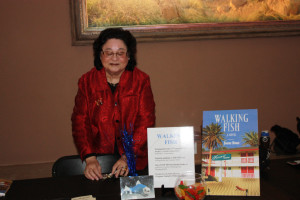 2011 Book Launch of my novel WALKING FISH at the Albuquerque Art Museum