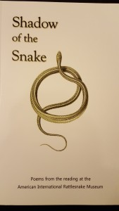 "Shadow of the Snake: Poems from the reading at the American International Rattlesnake Museum ""Coiled Serpent"""
